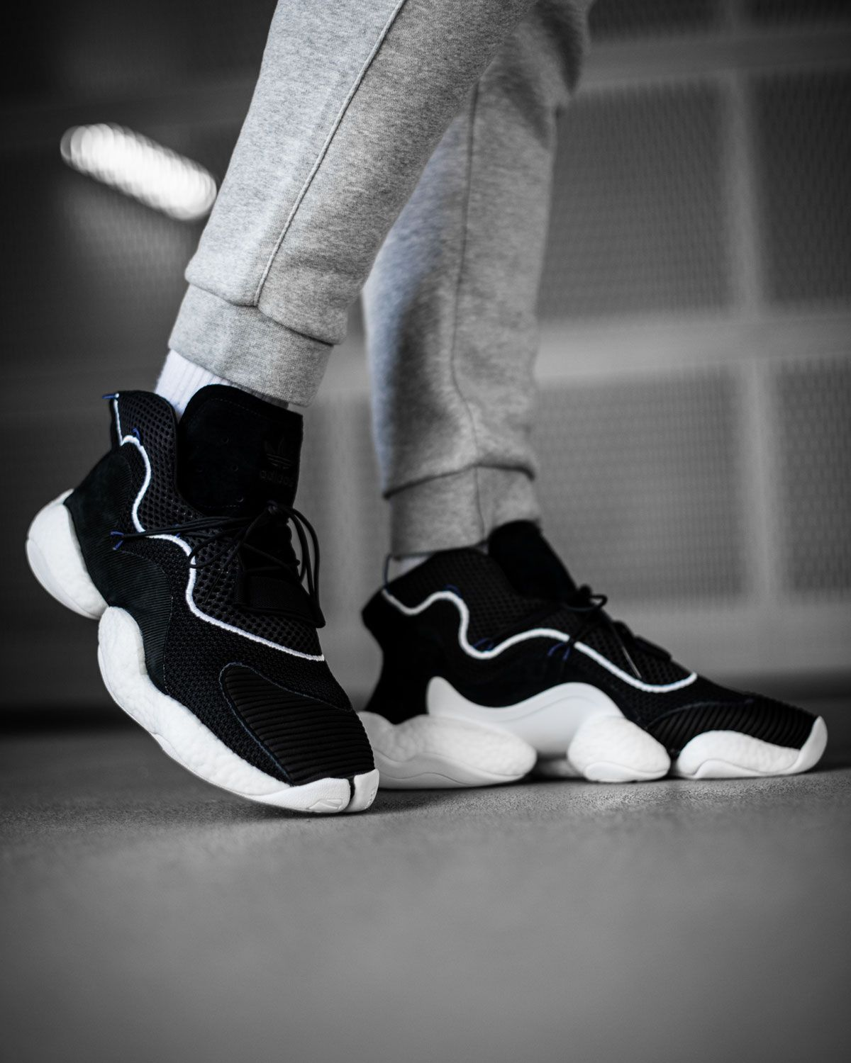 The adidas Crazy BYW takes Feet You Wear to the next level and turns it into
