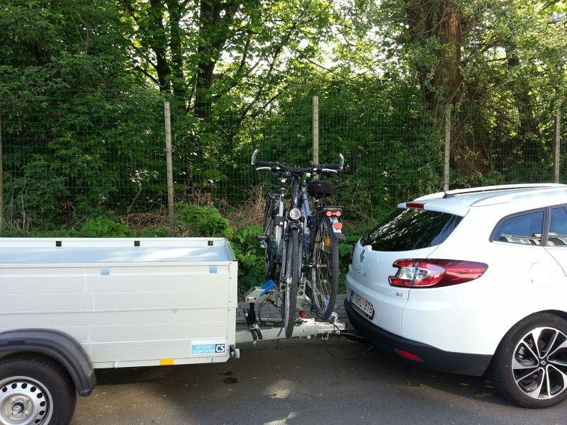 Vélos Tente Quel Solution De Remorque Page Remorque - Porte vélo caravane sur flèche