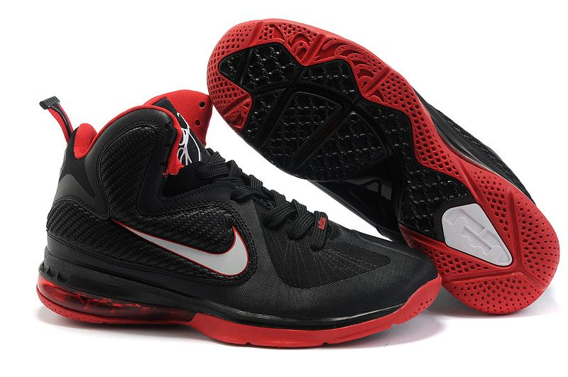 detailed look 7dcfd f44e3 Nike Lebron 9 Shoes Red Black White | Nike Lebron 9 | Most ...