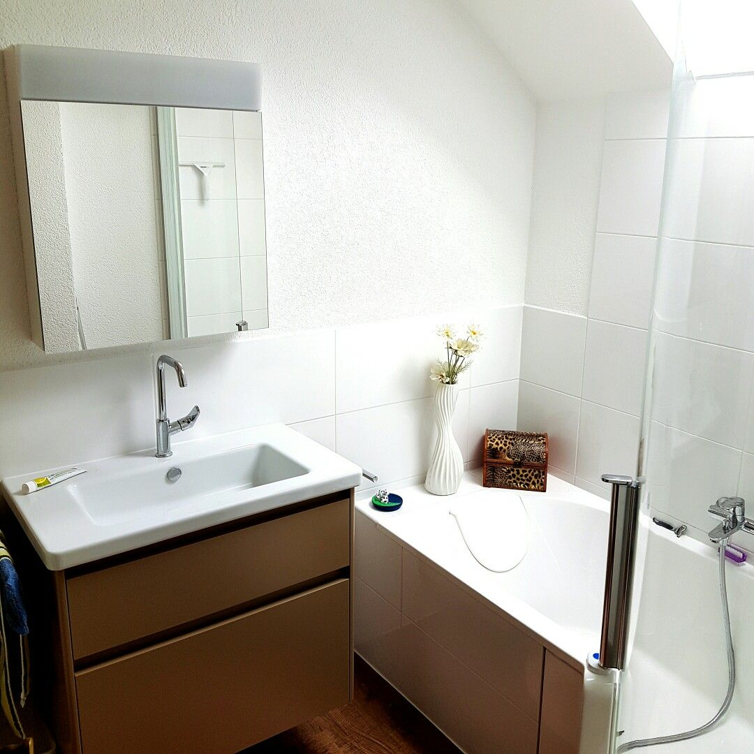 Beautiful Duschen Und Baden Auf Kleinstem Raum Möglich ! Badewanne Mit Niederem  Einstieg ! Danke Bad Profi