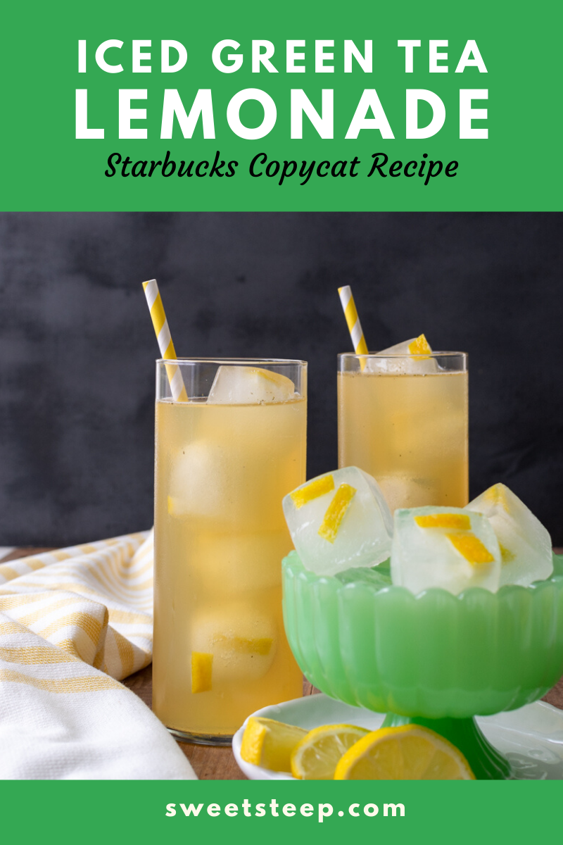 Photo of Starbucks Iced Green Tea Lemonade Copycat Recipe