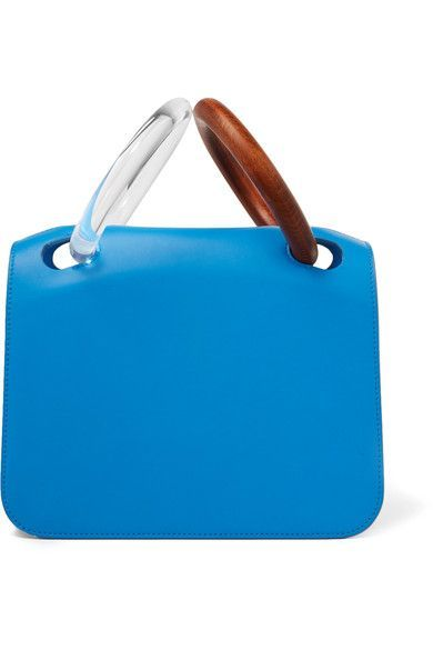 62e3781e5a5f Roksanda s  Neneh  tote has cool Perspex and wooden bracelet handles -  their sculptural shape reminds us of the designer s ready-to-wear  collection.