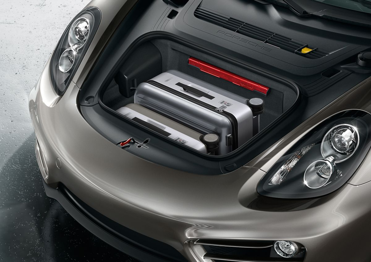 The Mid Engine Design Gives The New Cayman Even More