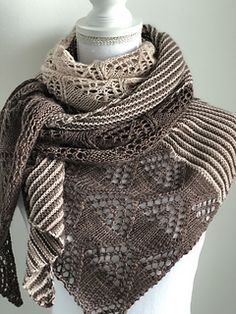 Photo of Ravelry: Soulannas Lens Flare Shawl Test Knit #flare #knittingmodelideas #ravel …