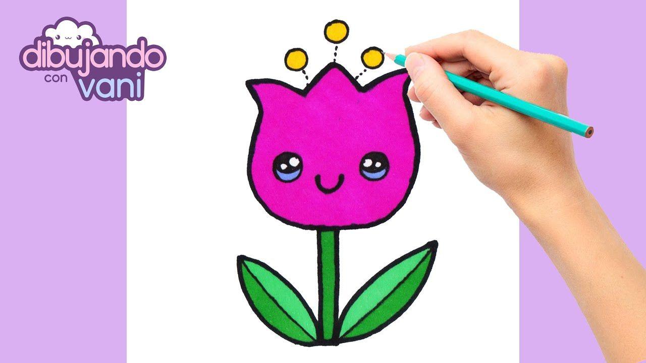 Como Dibujar Una Flor Kawaii Dibujos Faciles Dibujos Kawaii Dibujo Dibujos Kawaii Dibujos Faciles Kawaii