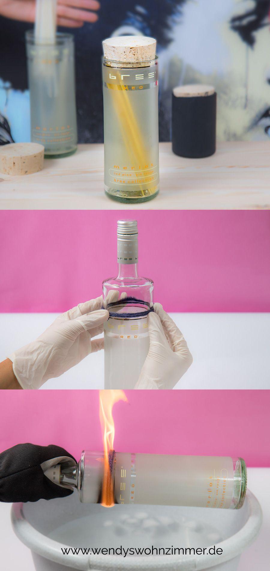 diy aufbewahrung aus geschnitten flaschen basteln mit bree. Black Bedroom Furniture Sets. Home Design Ideas