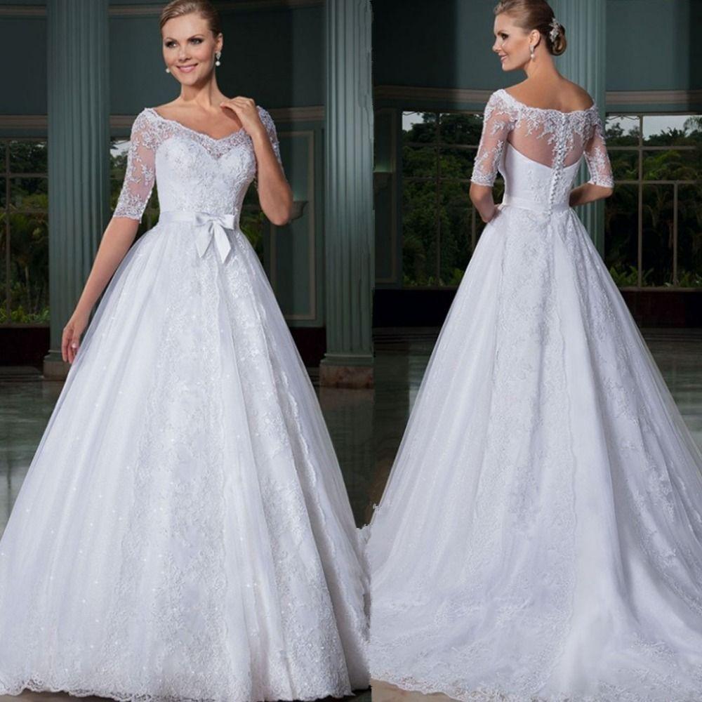 H007 vestido de novia Elegant Wedding Dresses Turkey 2016 Plus ...