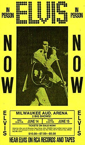 Elvis - Milwaukee Auditorium Arena