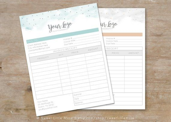 photography invoice form invoice form template photographer invoice