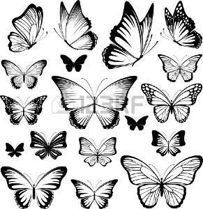 35+ Tatouage papillon noir et blanc trends