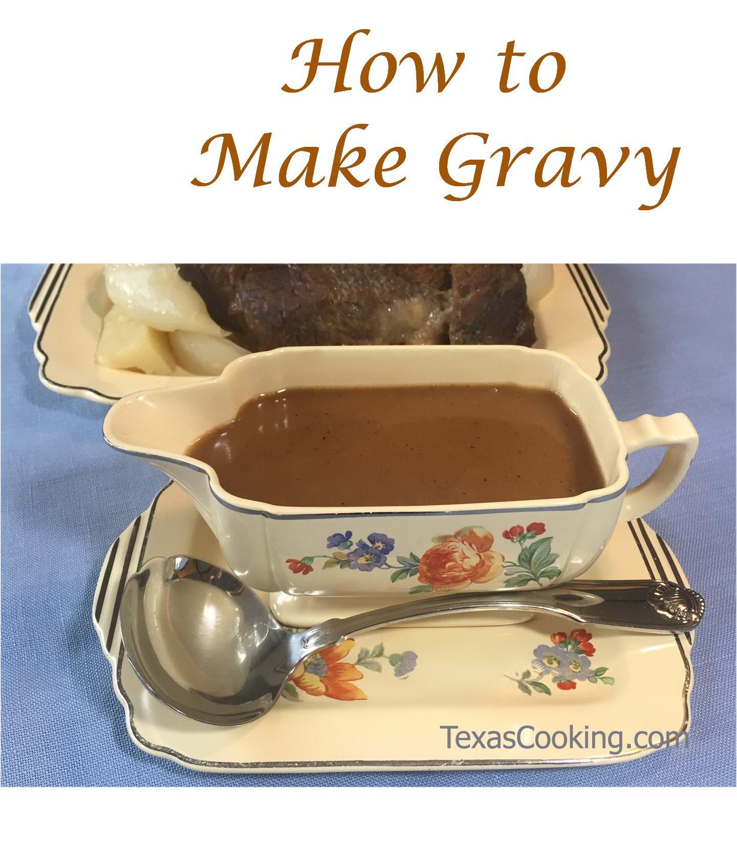 Basic Pan Gravy Recipe Roast Gravy Gravy Pot Roast Gravy
