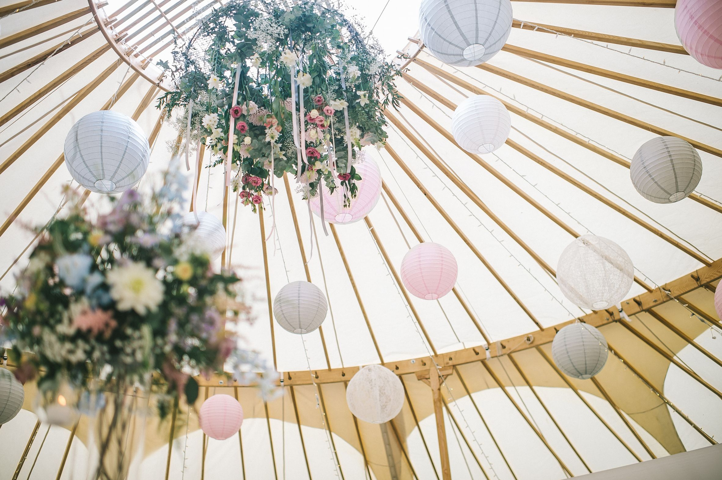 50ft yurt - Yorkshire Yurts