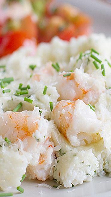 Shrimp and Grits Casserole