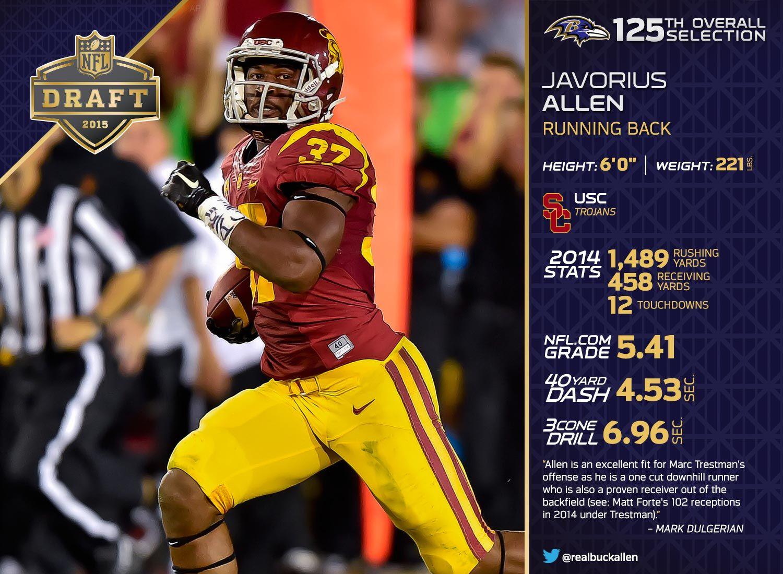 Javorius Allen NFL Jersey
