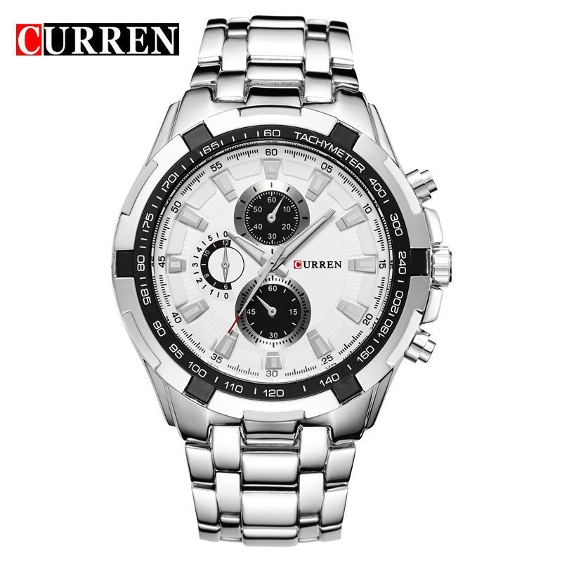8181e3b6c77 Reloj Hombre CURREN 8023 Brand Simple Fashion Casual Business Watches Men  Date Waterproof Quartz Mens Watch relogio masculino