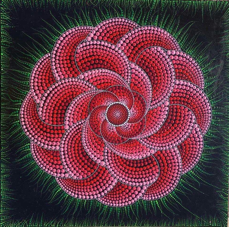 Pin by Jeanette Siegel on Mandalas | Pinterest | Dot art