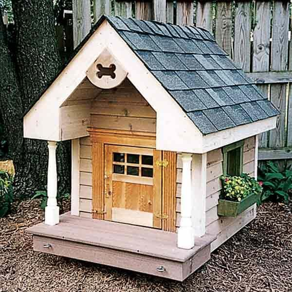 16 Doghouses Like Your House Dog Houses Designer Dog Beds Diy
