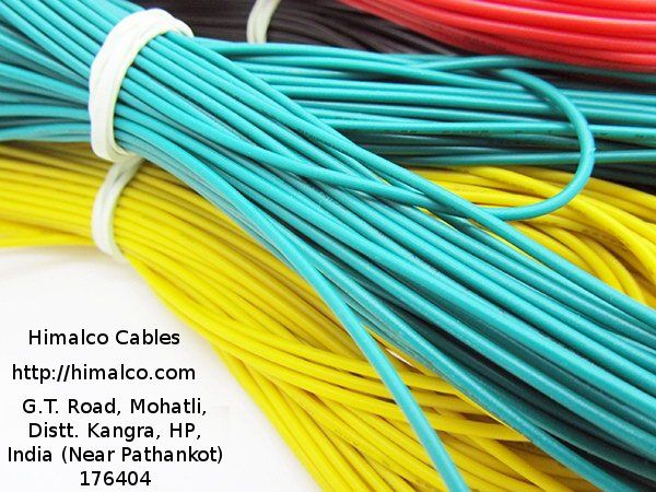 Get All Types Of Wires And Cables From India S Leading Cable Company Himalco Cables We Are Manufacturers Many Types Electrical Cables Cable Companies Cables