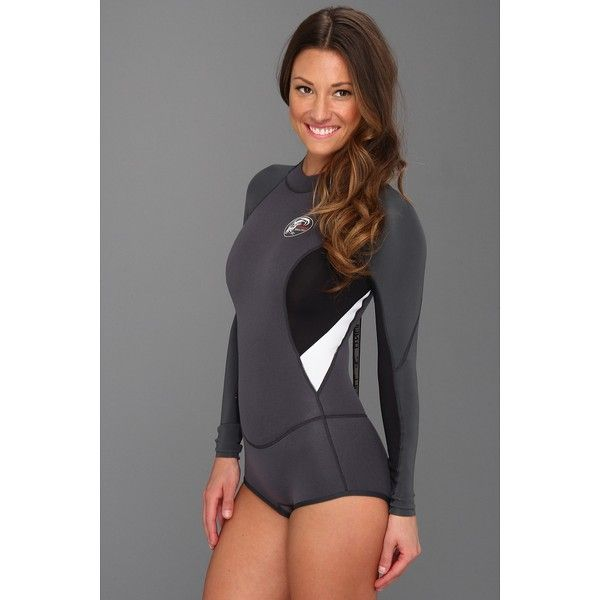 Wetsuit. from polyvore · Billabong Womens Spring Fever 2mm Back Zip Long  Sleeve Shorty ... 5857a3b07