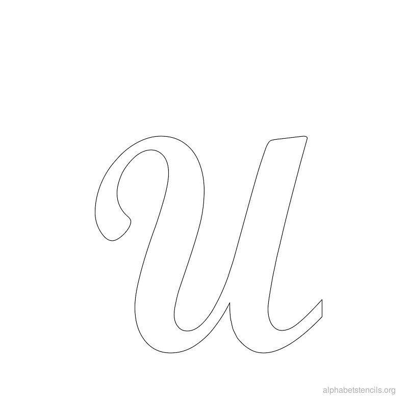 Alphabet Stencils U Printable Stencils Alphabet U Alphabet Stencils Org Alphabet Stencils Alphabet Stencils