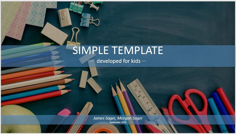 Simple kids powerpoint school supplies sagefox themed powerpoint free simple kids powerpoint school supplies by sagefox choose from thousands of quality templates with no fees or registration required toneelgroepblik Images