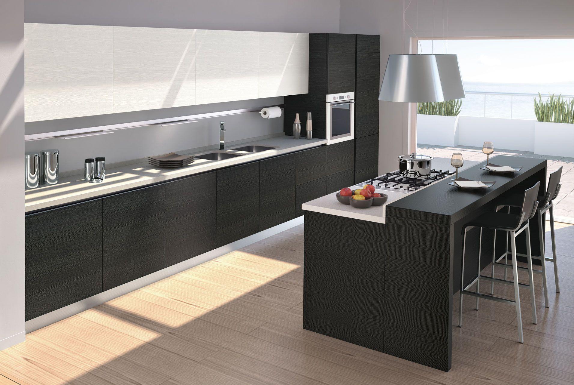 beautifully minimalistic kitchen vismap cucine moderno idea plus idea plus yellowpine 1
