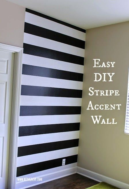 Pin By Thomas Murphy On Some Of My Favorites Striped Accent Walls Accent Wall Accent Walls In Living Room