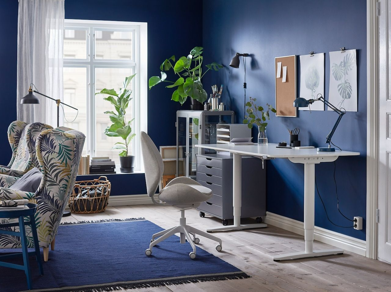 A workspace that appeals to all your senses Ikea home