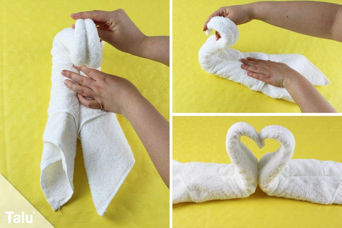 Sehr Einfach genial: Handtücher falten wie im Hotel | Good ideas | Slippers ZY41