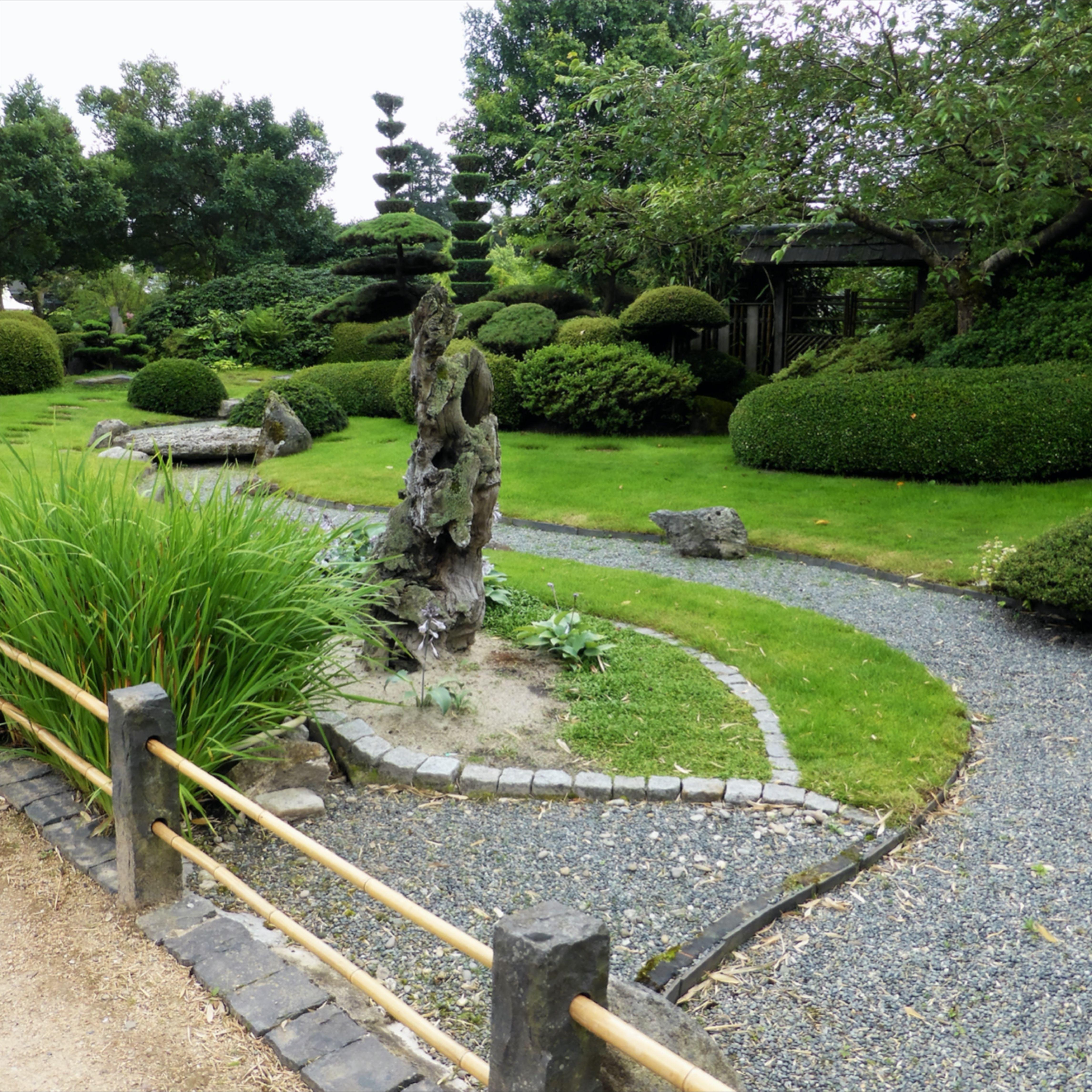Der Japanische Garten In 2020 Steingarten Pflanzen Japanischer