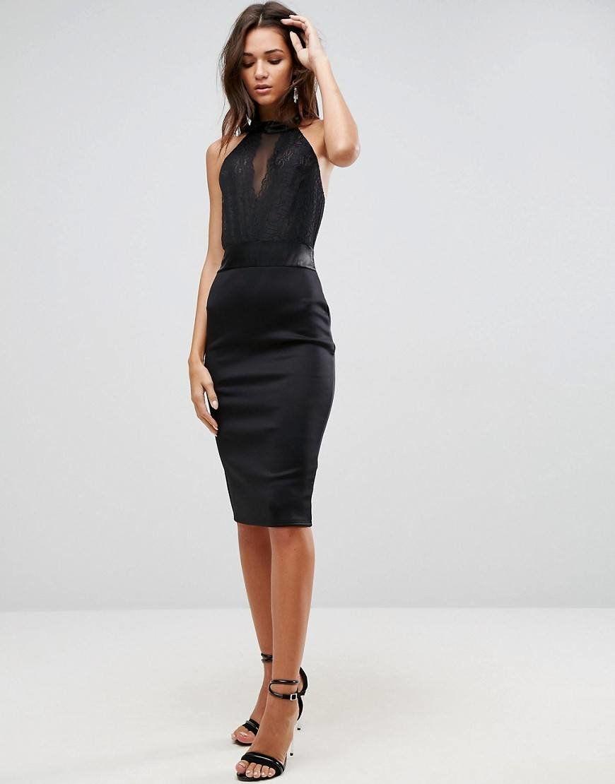 c9fe4a3c2f6 Черное коктейльное платье с американской проймой