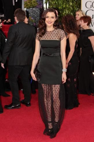 Rachel Weisz's gorgeous Louis Vuitton dress at the Golden Globes