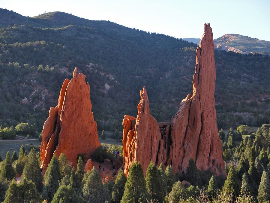 Three Graces And Cathedral Spires Garden Of The Gods Co With