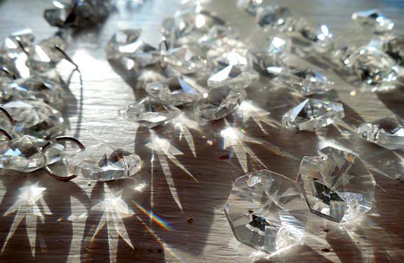 Bulk Loose Chandelier Crystal Prisms Octagon Chandelier CHANDELIER - Loose chandelier crystals