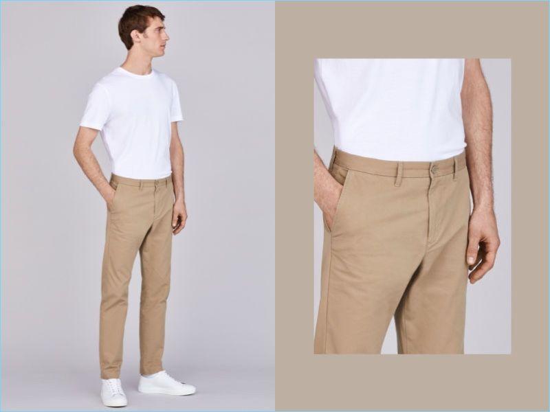 detailing find lowest price best prices Cotton Chinos Slim fit   Men's Smart Style in 2019   Slim ...