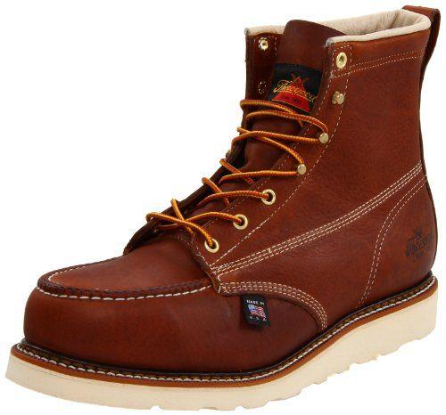 e180bf0f219 Great for Thorogood Men's American Heritage 6 Moc Toe, MAXwear Wedge ...