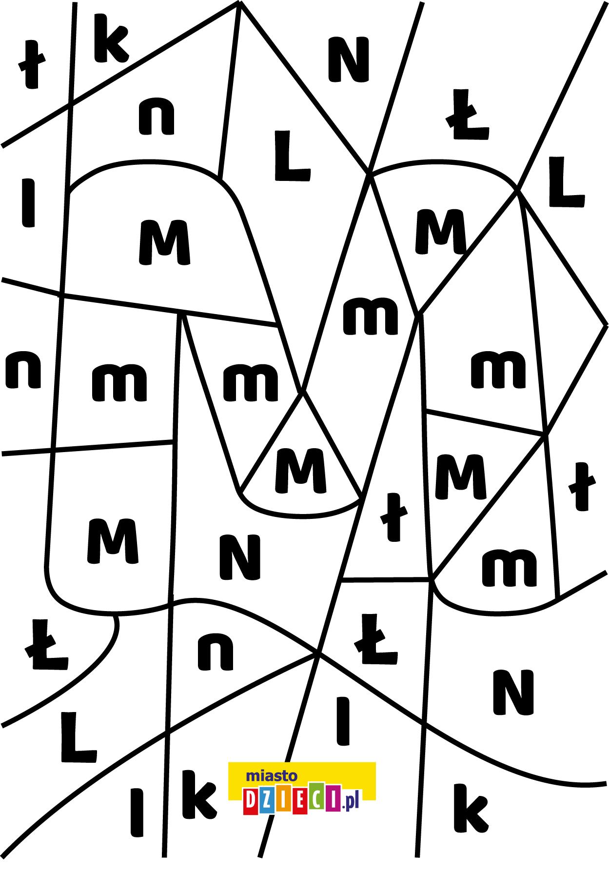 Darmowy Szablon Edukacyjny Literka M Znajdz Litere M W Miescie Dzieci Znajdziecie Takze Inne Arkusze Do Druku Z Cyframi I Literami Do Nauki Czytania D In 2020 Diagram