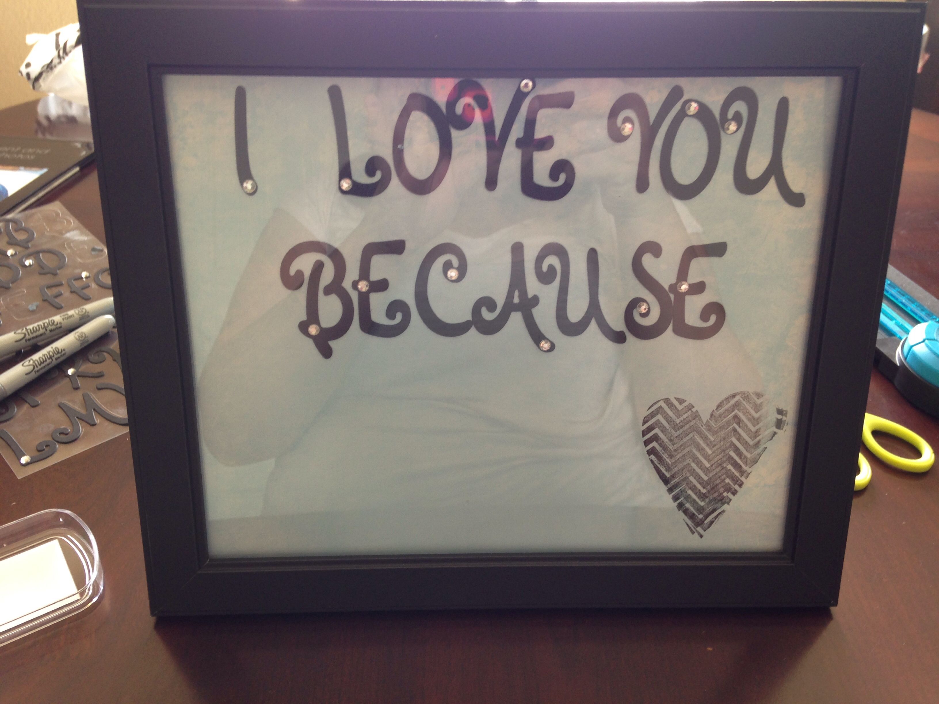 I love you because ...