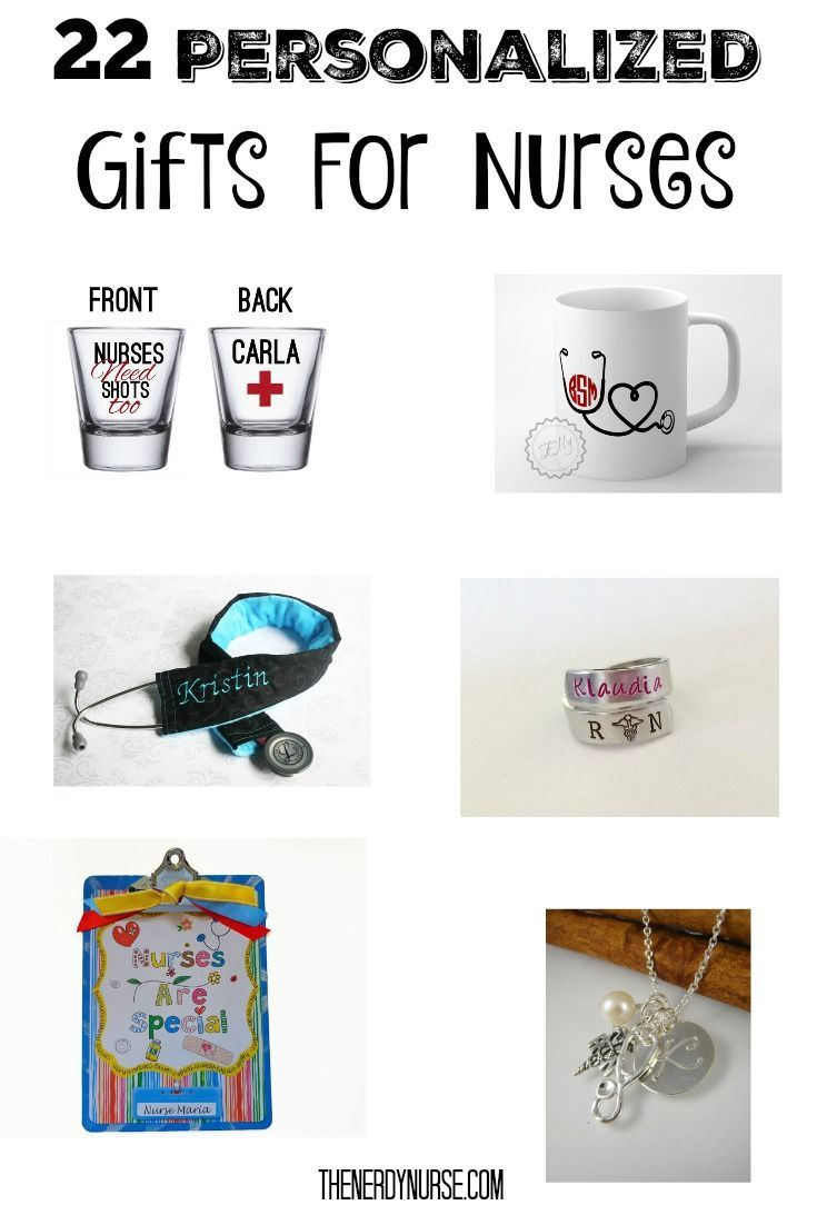22 Personalized Gifts For Nurses | Gift, Nurses week and Nurse stuff