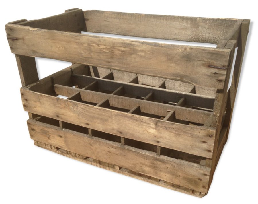 ancienne caisse en bois pour bouteilles en plus du poids des contenants des contenus les. Black Bedroom Furniture Sets. Home Design Ideas