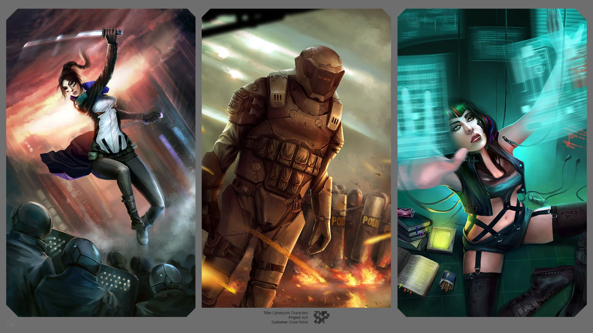 cyberpunk smoker - Buscar con Google | scifi characters | Pinterest