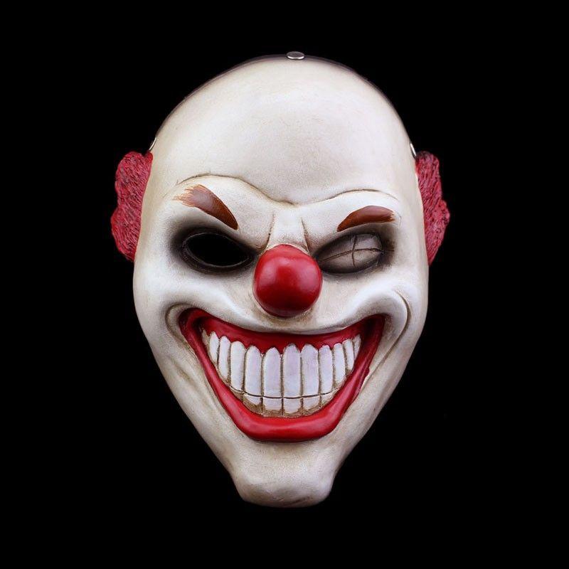 Adult Batman Joker Clown Bank Robber Mask Horror Halloween Ghost Party Mask Prop