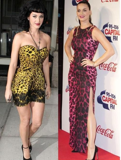 Katy Perry prom dress with animal print | Women\'s Fashion ...