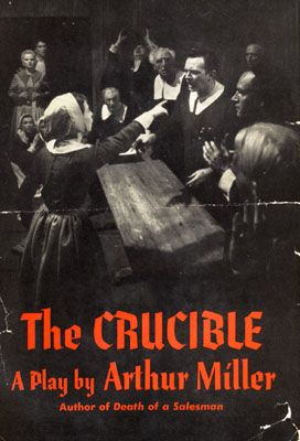 a mans sacrifice in the crucible by arthur miller Eventually he decides to sacrifice his life, rather than betray his beliefs  the crucible by arthur miller - when asked about the crucible,.