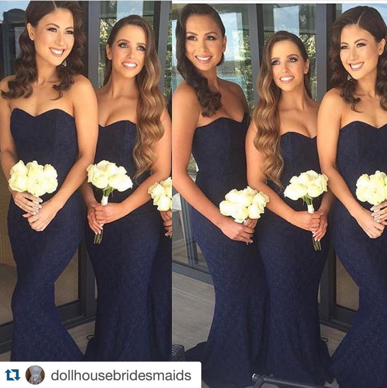 Love the style of dress maybe a different color bridesmaids love the style of dress maybe a different color ombrellifo Gallery