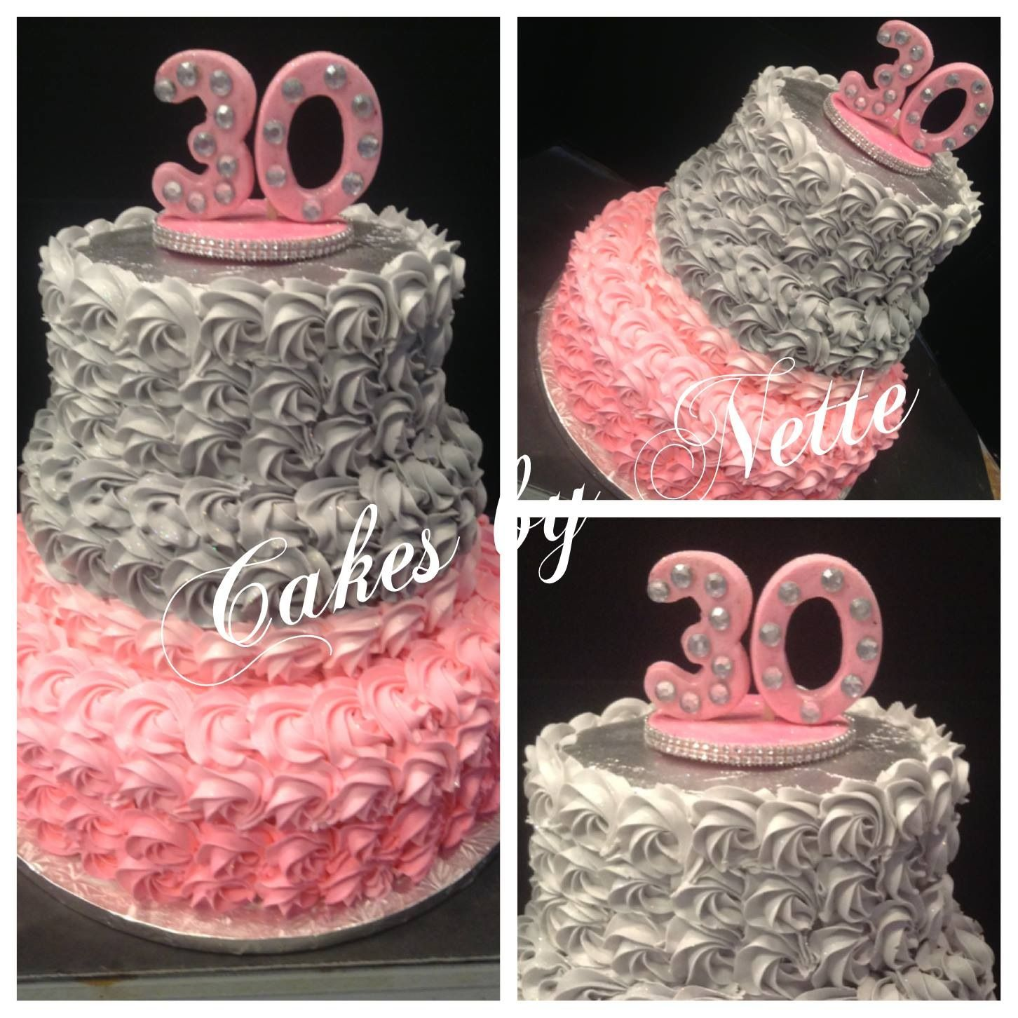 30th Birthday Cake, Cakes By Nette