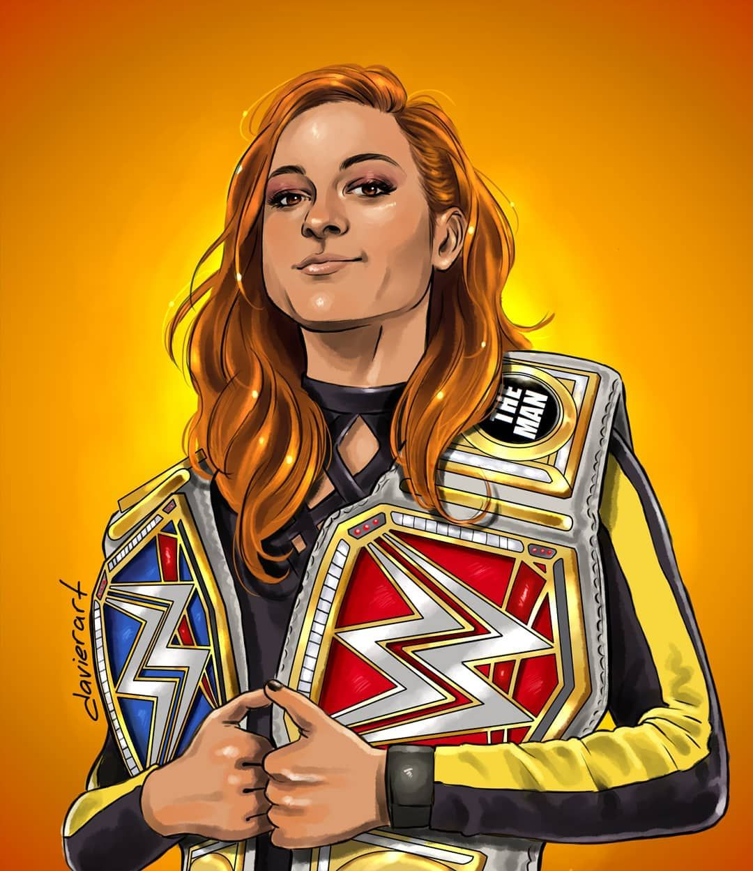 BECKY LYNCH WWE POSTER WRESTLING IMAGE PRINT A3 A4 SIZE