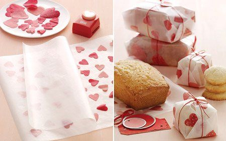 Cómo decorar el papel encerado