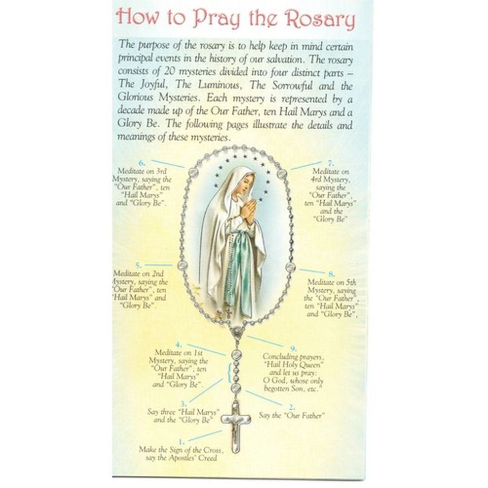How to Pray the Rosary in 2020 Praying the rosary, Pray