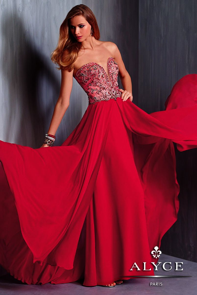 Evening dressucbrueprom dress by alyce parisucbrueucbruelook ravishing